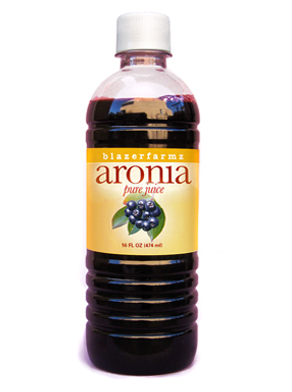 16 oz. bottle of Aroniaberry Cold-Pressed Juice
