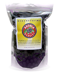 16 oz. pouch of Fresh-Frozen Aronia berries